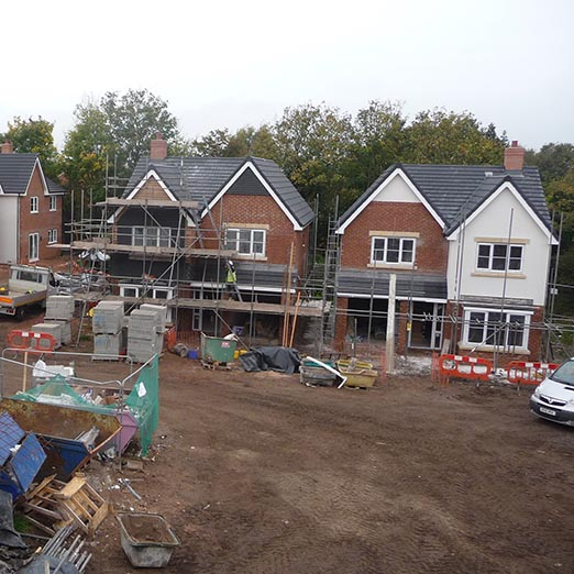 CUL DE SAC DEVELOPMENT, CHESHIRE